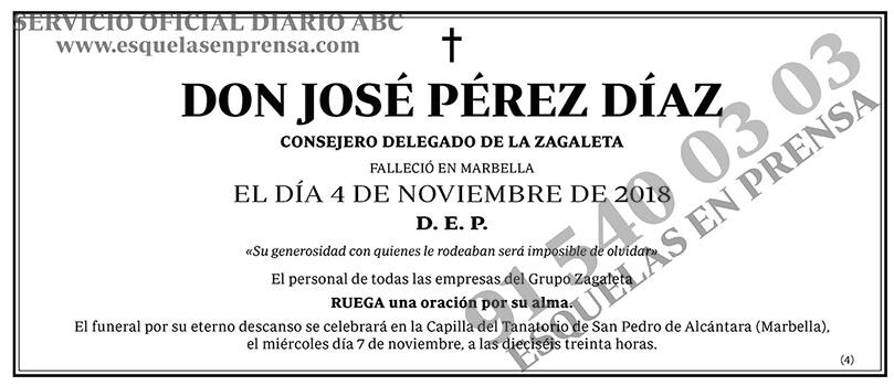 José Pérez Díaz